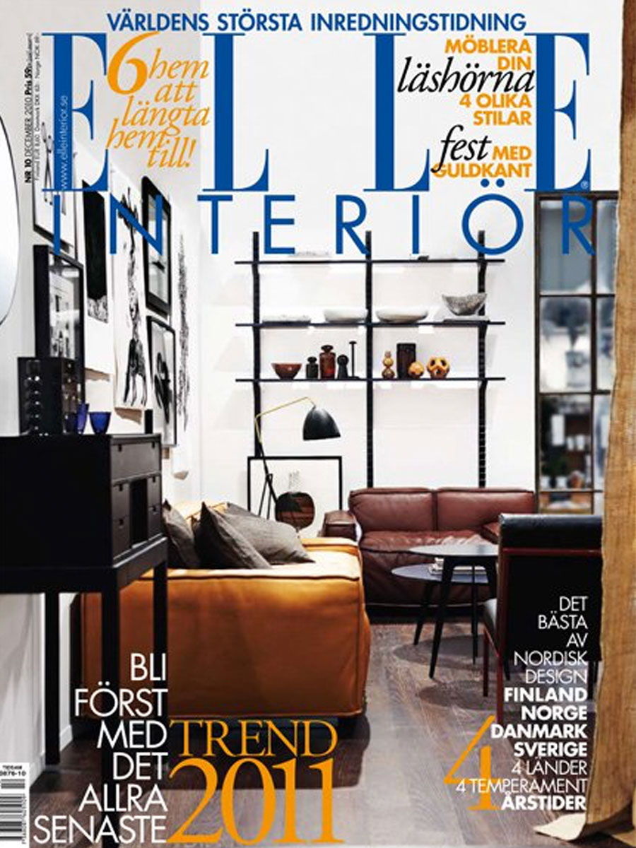 Elle Interior magazine cover