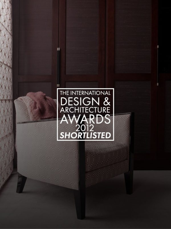 image of a lounge chair for the international design and architecture awards 2012