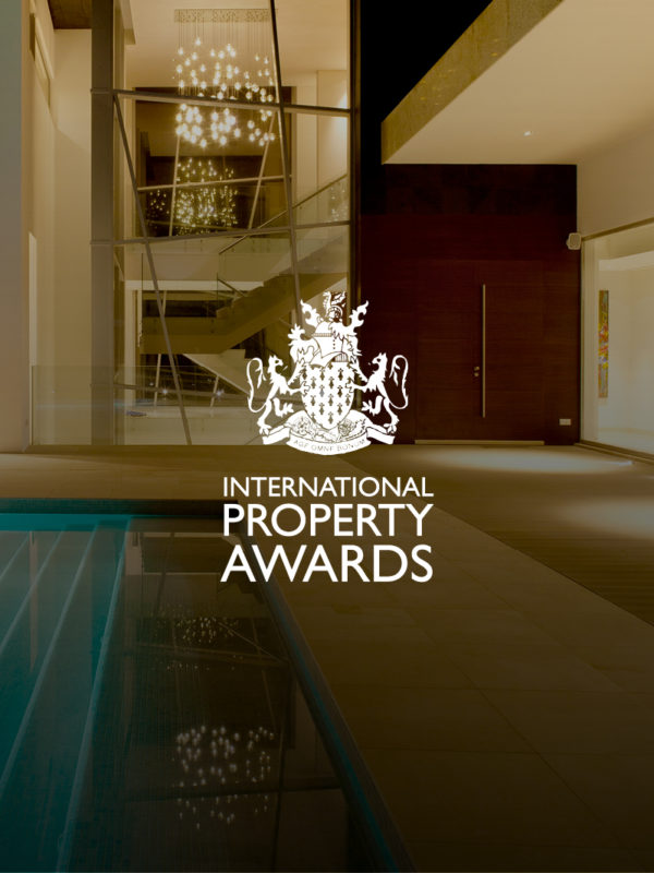 Promo image of an indoor pool for international property awards