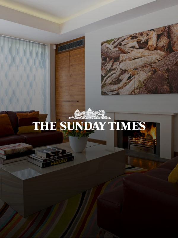 Promo image of a living room for The Sunday Times