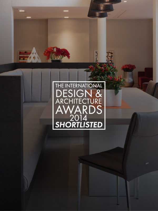 promo image of booth bench for the international Design and Architecture awards 2014