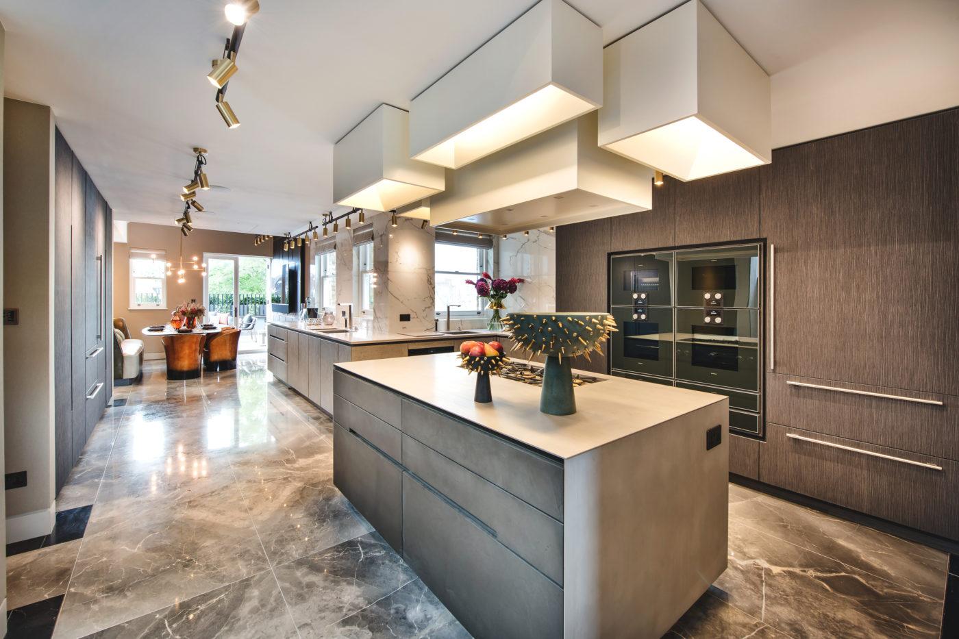 knightsbridge penthouse kitchen design
