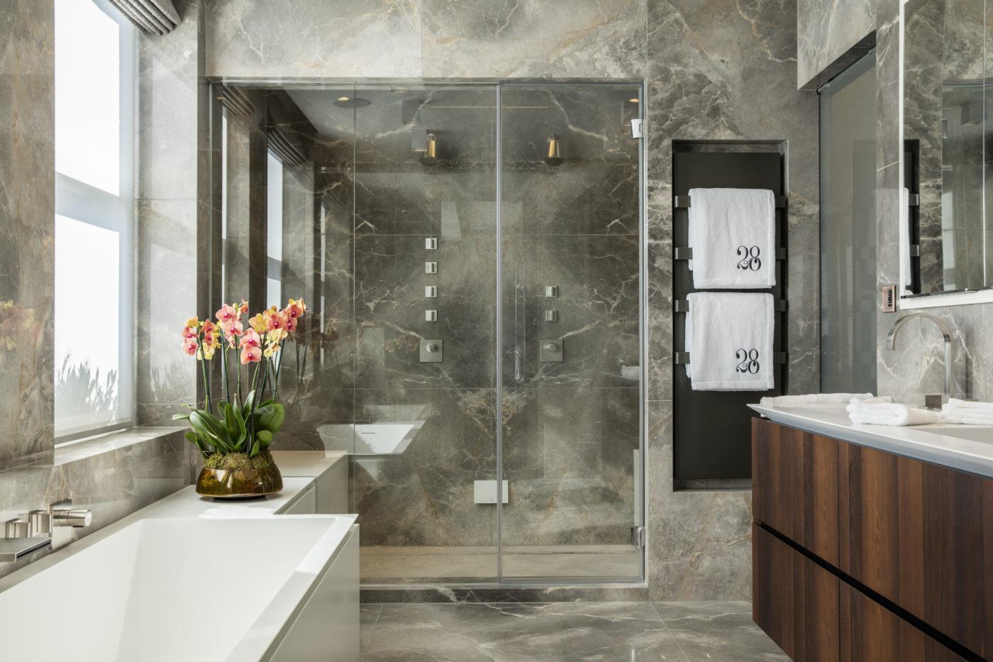 knightsbridge penthouse bathroom