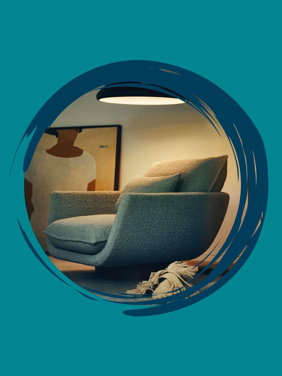 Man of Parts's Rua Ipanema armchair