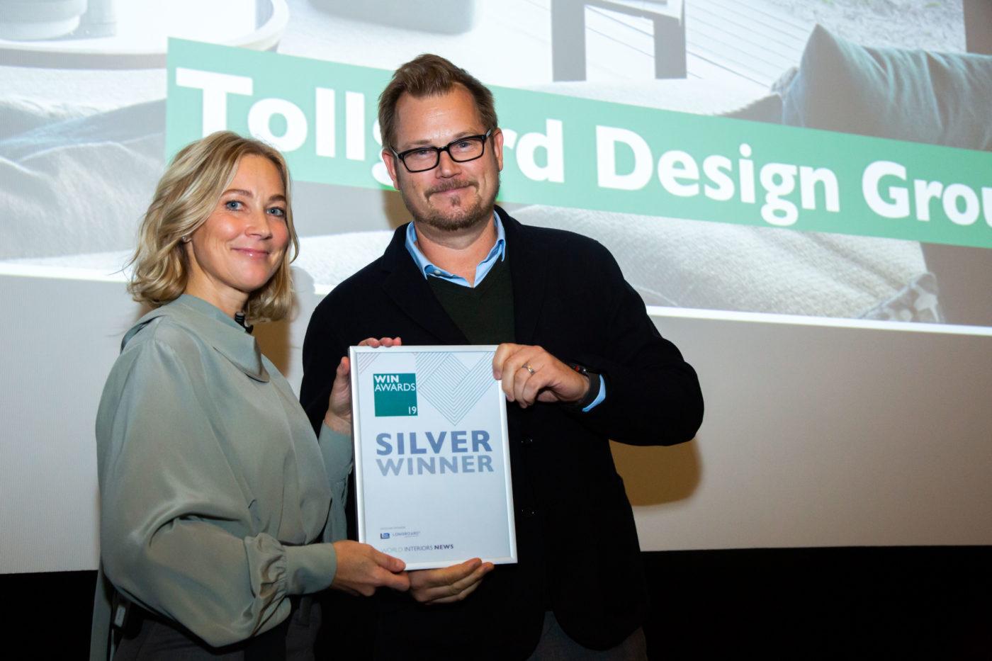 Win Wan Awards, international interior designer Staffan Tollgård