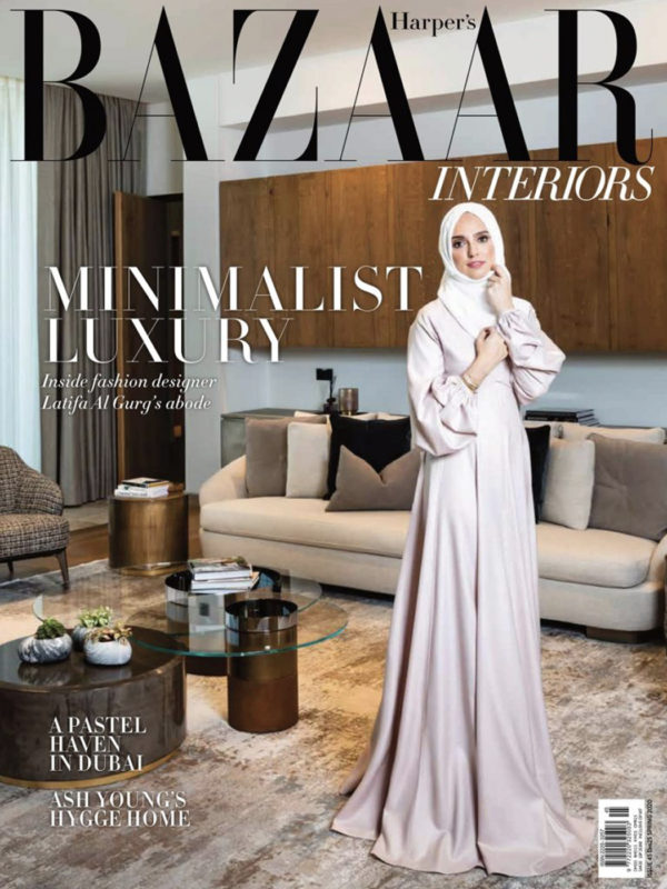 Cover of Harpers Bazaar April 2020