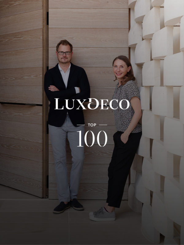 Photo of Monique and Staffan Tollgard for LuxDeco top 100