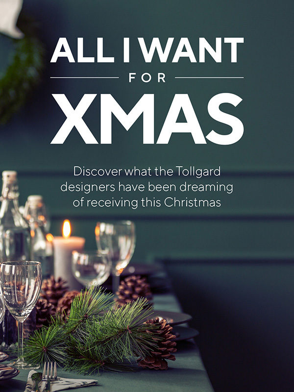 All I want for Christmas article cover by Tollgard Designers